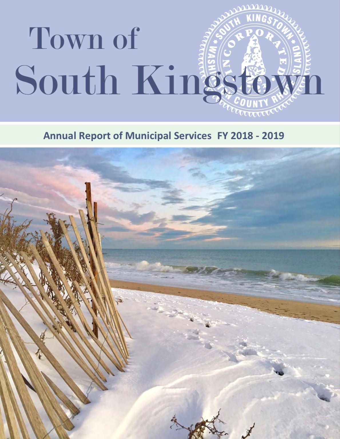 FY 2018-2019 Annual Report Cover